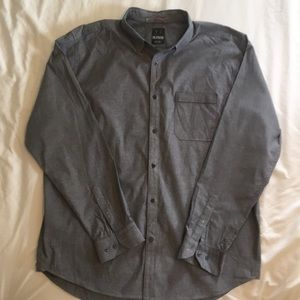 NWOT Under Armour gray oxford shirt 2XL